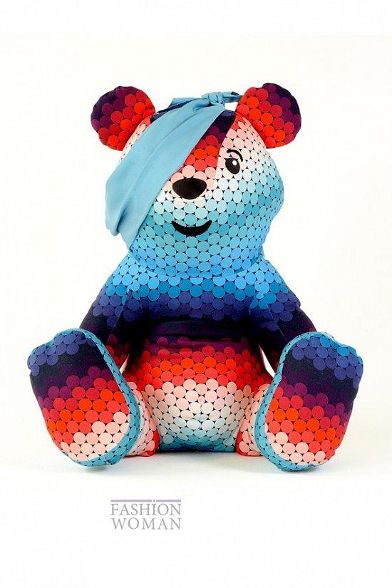 Коллекция дизайнерских плюшевых медведей Pudsey фото №11
