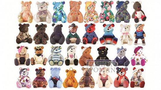 Коллекция дизайнерских плюшевых медведей Pudsey фото №28