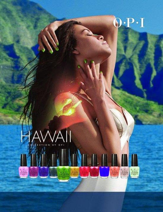 Коллекция лаков для ногтей OPI Hawaii Collection весна-лето 2015 фото №8