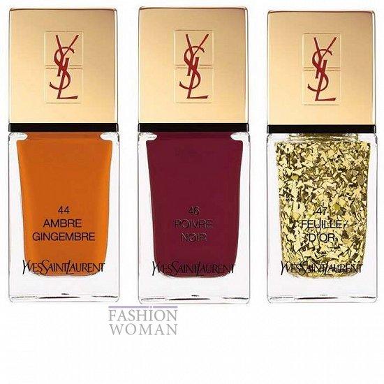 Коллекция лаков для ногтей YSL La Laque Couture Spicy весна 2014  фото №2