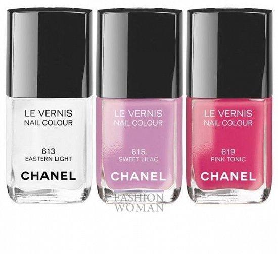 Коллекция макияжа Chanel Reflets d'Été de Chanel лето 2014 фото №6