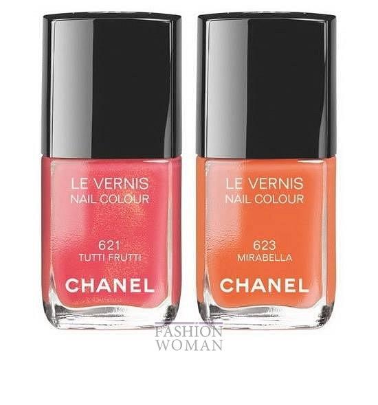 Коллекция макияжа Chanel Reflets d'Été de Chanel лето 2014 фото №7