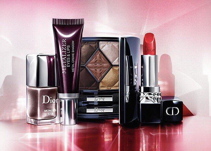 Коллекция макияжа Dior Metallics осень 2017 фото №1
