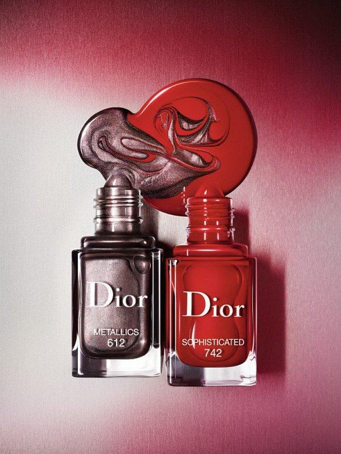 Коллекция макияжа Dior Metallics осень 2017 фото №14