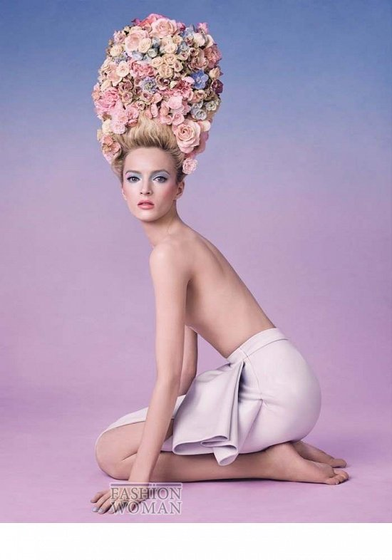 Коллекция макияжа Dior Trianon весна 2014 фото №19