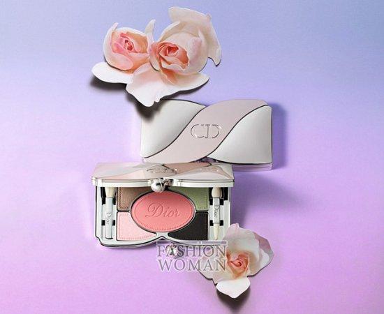 весенняя коллекция макияжа Dior Trianon