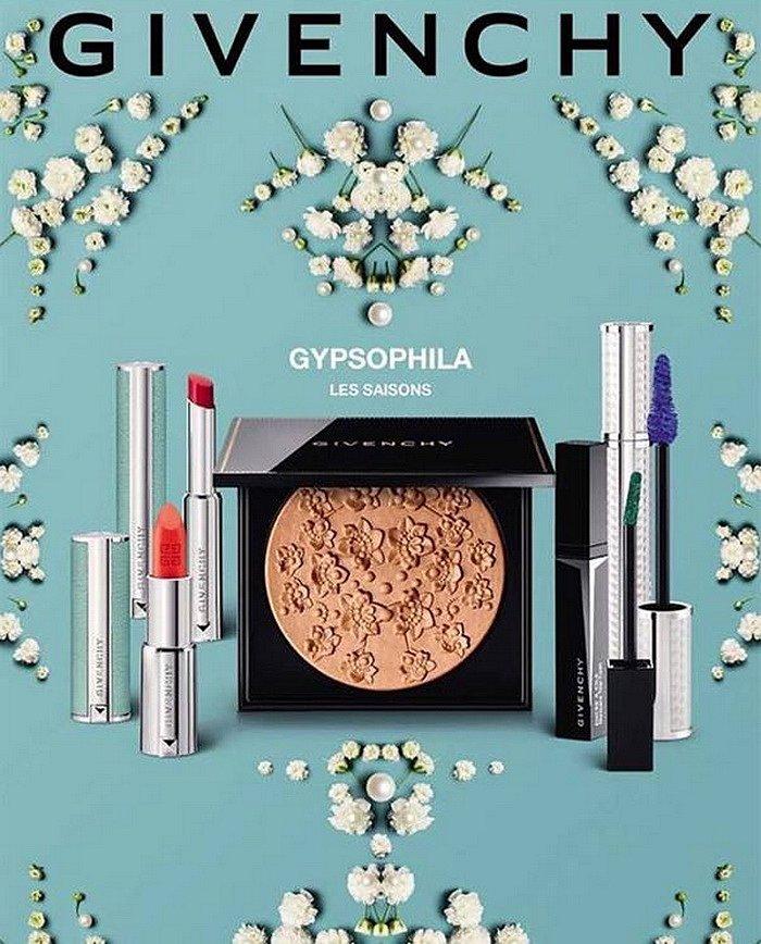Коллекция макияжа Givenchy Gypsophila Les Saisons лето 2017