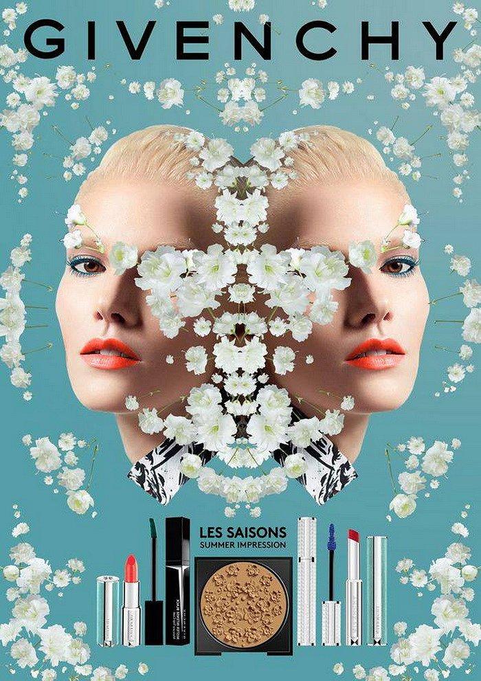 Коллекция макияжа Givenchy Gypsophila Les Saisons лето 2017 фото №1