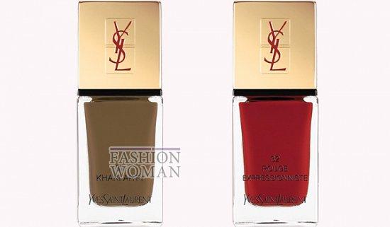Коллекция макияжа YSL осень 2012 фото №11