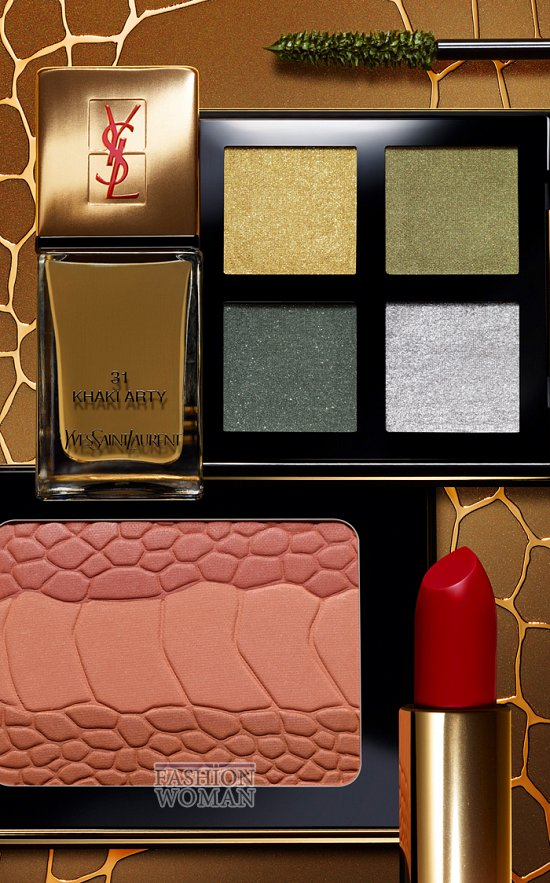 Коллекция макияжа YSL осень 2012 фото №12