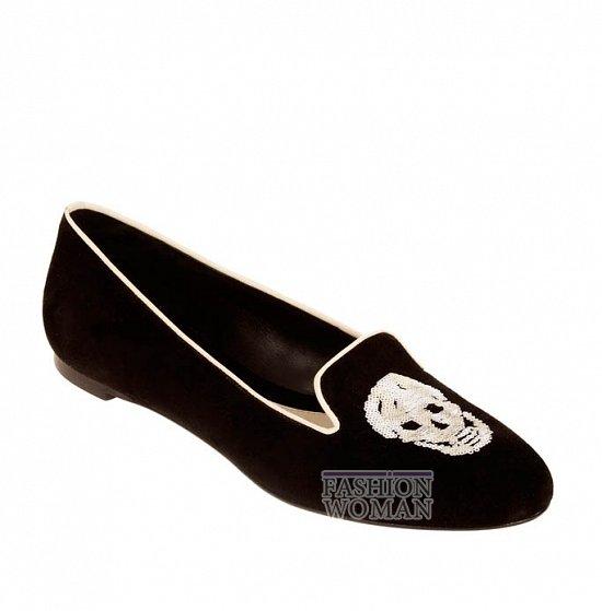 Коллекция обуви Alexander McQueen осень-зима 2012 фото №2