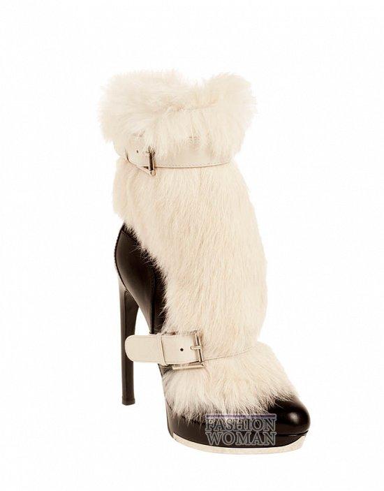 Коллекция обуви Alexander McQueen осень-зима 2012 фото №11