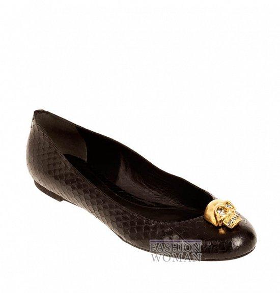 Коллекция обуви Alexander McQueen осень-зима 2012 фото №13