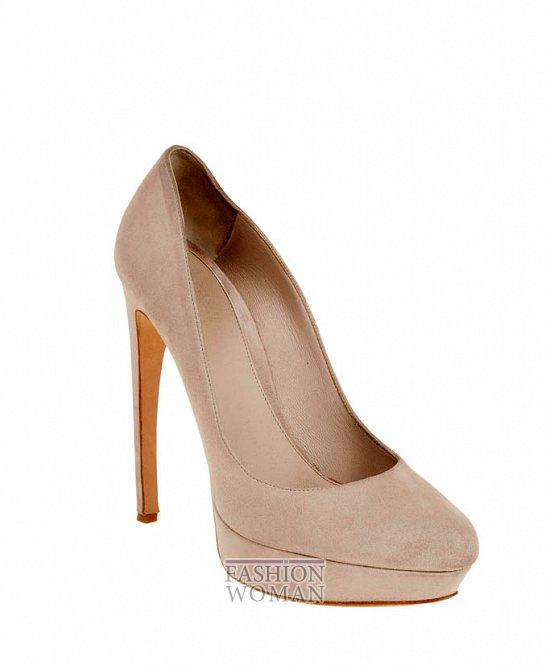 Коллекция обуви Alexander McQueen осень-зима 2012 фото №15