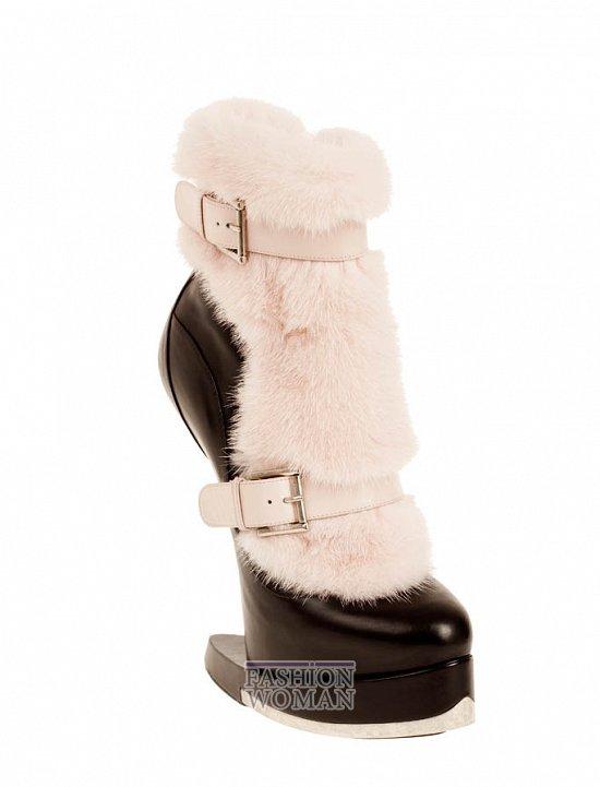 Коллекция обуви Alexander McQueen осень-зима 2012 фото №18