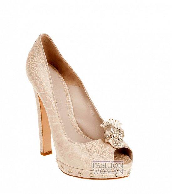 Коллекция обуви Alexander McQueen осень-зима 2012 фото №19