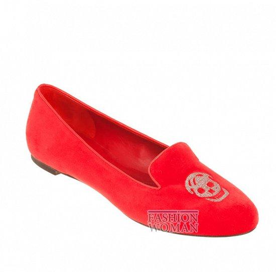 Коллекция обуви Alexander McQueen осень-зима 2012 фото №20