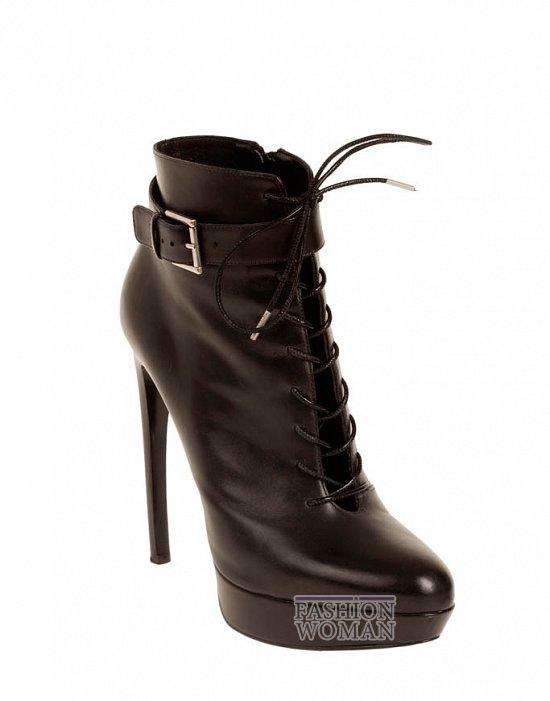 Коллекция обуви Alexander McQueen осень-зима 2012 фото №3
