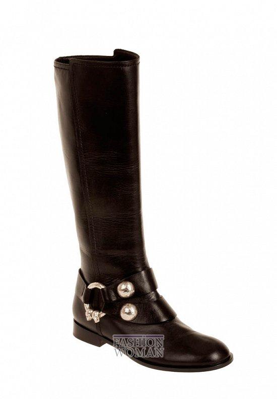 Коллекция обуви Alexander McQueen осень-зима 2012 фото №22