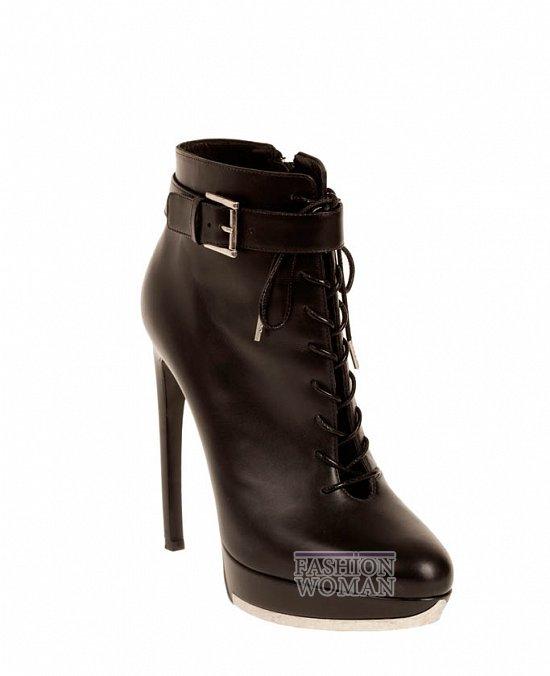 Коллекция обуви Alexander McQueen осень-зима 2012 фото №23