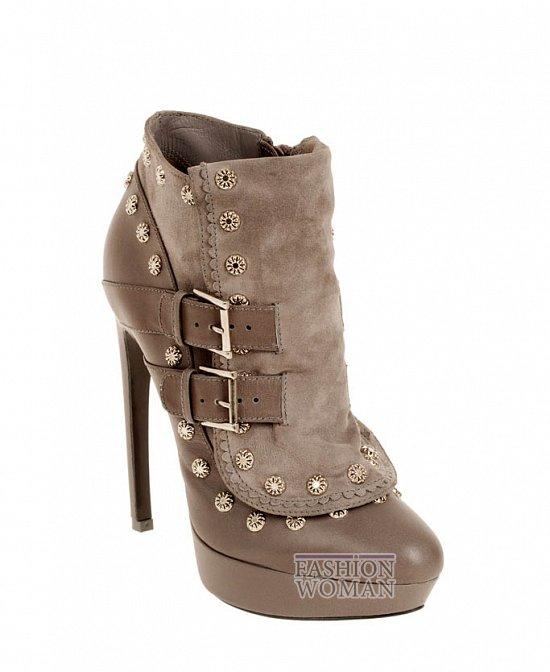 Коллекция обуви Alexander McQueen осень-зима 2012 фото №27