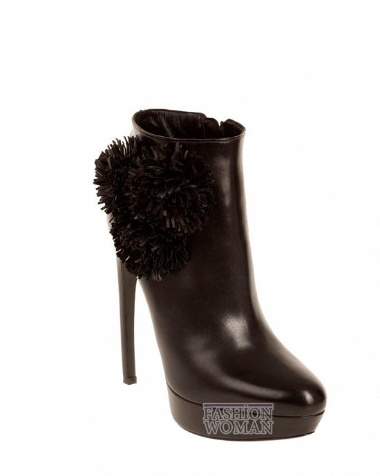 Коллекция обуви Alexander McQueen осень-зима 2012 фото №31