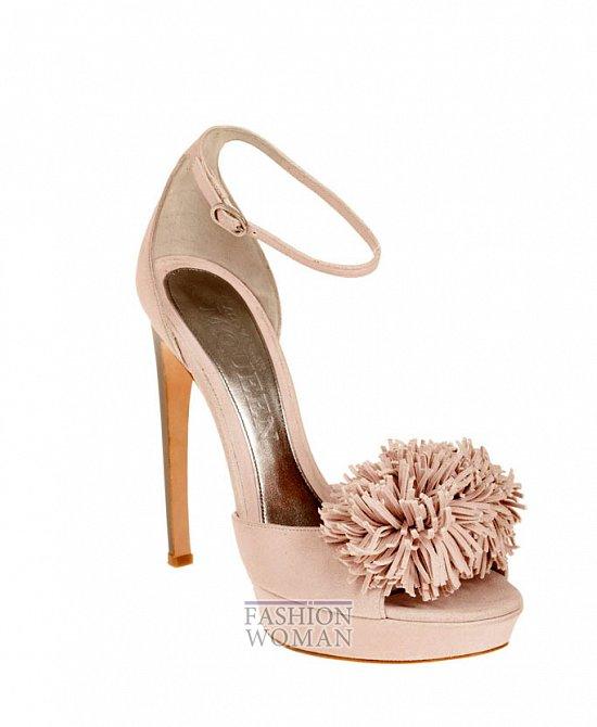 Коллекция обуви Alexander McQueen осень-зима 2012 фото №32