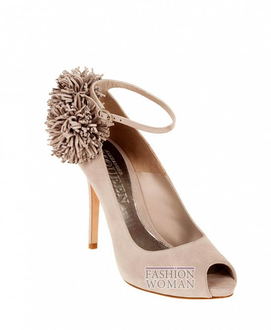 Коллекция обуви Alexander McQueen осень-зима 2012 фото №33
