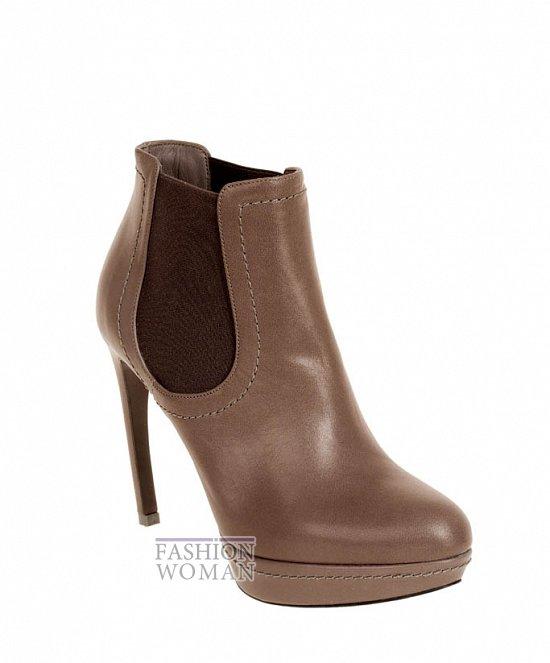 Коллекция обуви Alexander McQueen осень-зима 2012 фото №35
