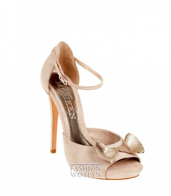 Коллекция обуви Alexander McQueen осень-зима 2012 фото №36