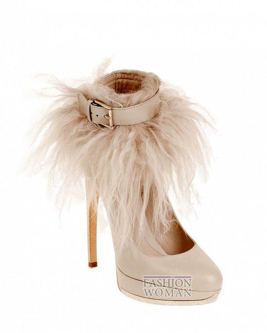 Коллекция обуви Alexander McQueen осень-зима 2012 фото №38
