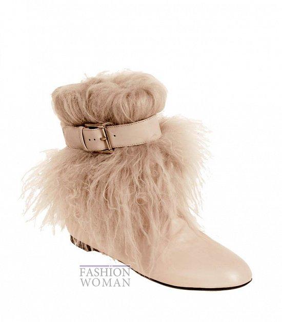 Коллекция обуви Alexander McQueen осень-зима 2012 фото №39