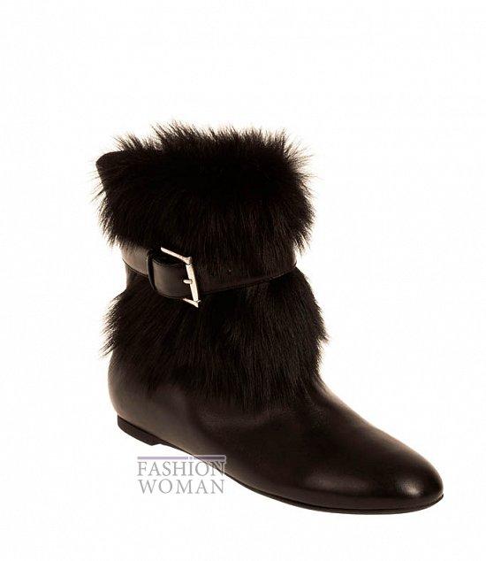 Коллекция обуви Alexander McQueen осень-зима 2012 фото №40