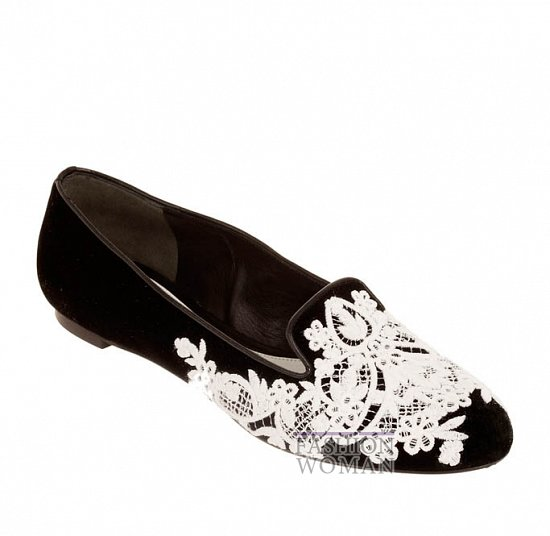 Коллекция обуви Alexander McQueen осень-зима 2012 фото №41