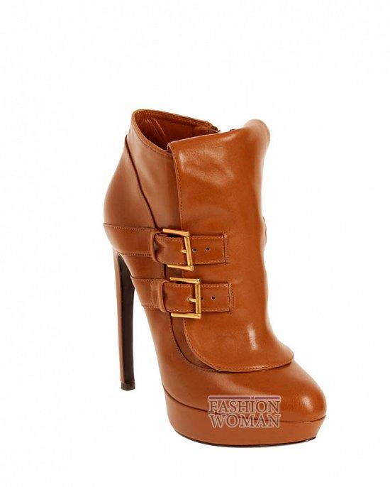 Коллекция обуви Alexander McQueen осень-зима 2012 фото №43