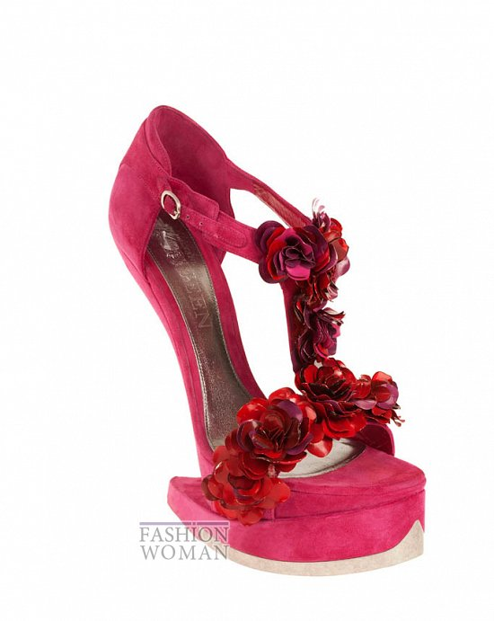 Коллекция обуви Alexander McQueen осень-зима 2012 фото №44
