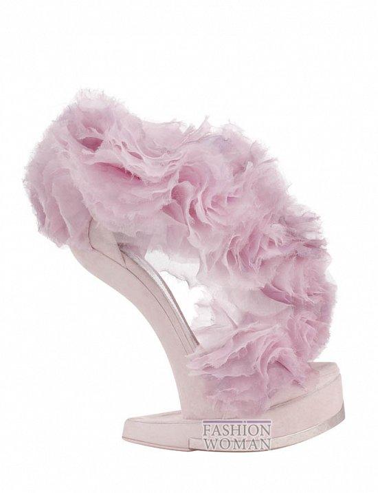 Коллекция обуви Alexander McQueen осень-зима 2012 фото №48