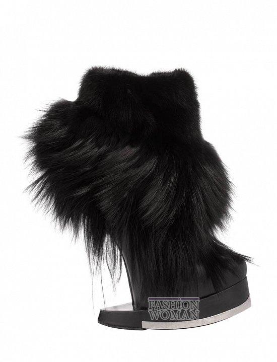 Коллекция обуви Alexander McQueen осень-зима 2012 фото №49
