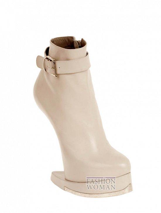 Коллекция обуви Alexander McQueen осень-зима 2012 фото №6