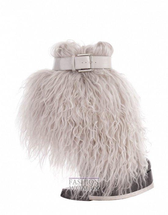 Коллекция обуви Alexander McQueen осень-зима 2012 фото №9
