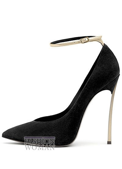 черные туфли на шпильке