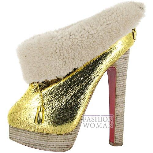 Коллекция обуви Christian Louboutin осень-зима 2012-2013 фото №11