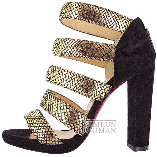 Коллекция обуви Christian Louboutin осень-зима 2012-2013 фото №48