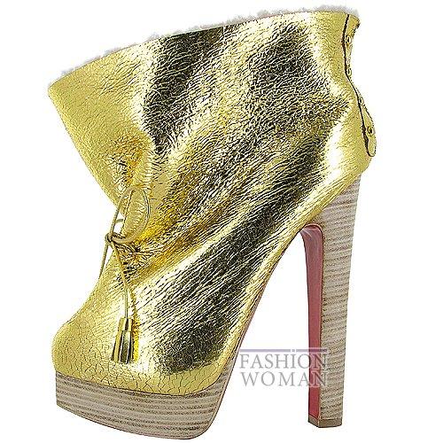 Коллекция обуви Christian Louboutin осень-зима 2012-2013 фото №10