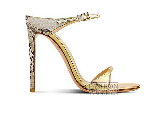 Коллекция обуви Gianvito Rossi весна-лето 2014 фото №11