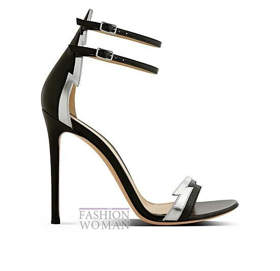 Коллекция обуви Gianvito Rossi весна-лето 2014 фото №12