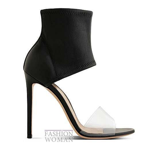 Коллекция обуви Gianvito Rossi весна-лето 2014 фото №14