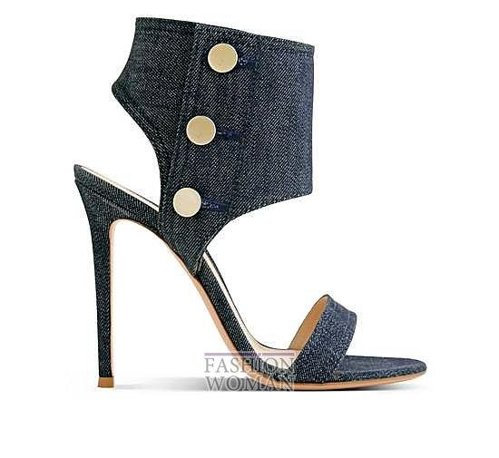 Коллекция обуви Gianvito Rossi весна-лето 2014 фото №21