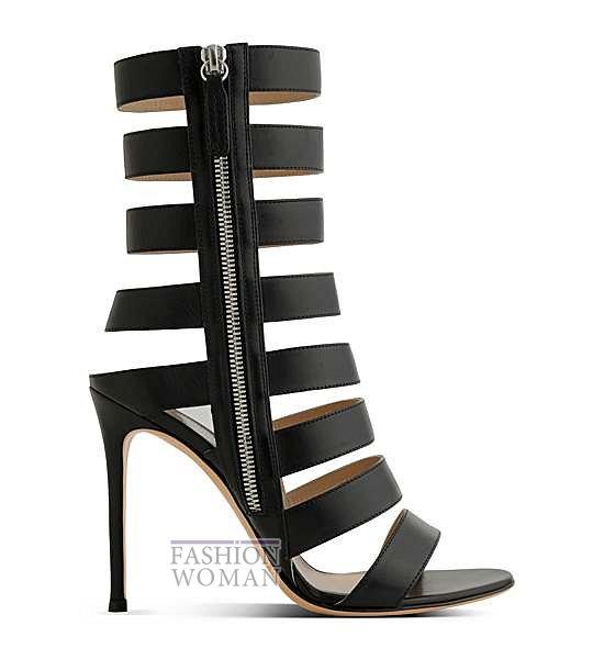 Коллекция обуви Gianvito Rossi весна-лето 2014 фото №23