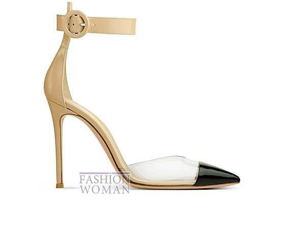 Коллекция обуви Gianvito Rossi весна-лето 2014 фото №24
